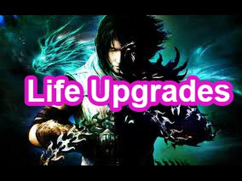 Prince of Persia The Two Thrones Health Upgrades Locations Life Upgrades