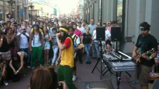 Noize mc - Live Freestyle Арбат 28.06.11