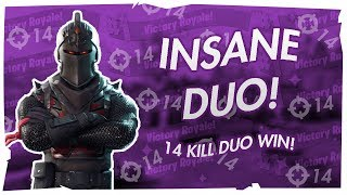 *INSANE* 14 KILL DUO DUB IN FORTNITE! FT. MDC LEAPER & MDC DIAMOND + 10,000 V-BUCKS GIVEAWAY