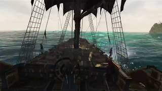Assassin's Creed IV - Sailing Ambiance (shanties [timestamps in description], talking, waves)