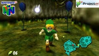 The Legend of Zelda: Ocarina of Time - Gameplay Nintendo 64 1080p (Project 64)