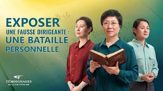Témoignage chrétien 2020 « Exposer une fausse dirigeante : une bataille personnelle »