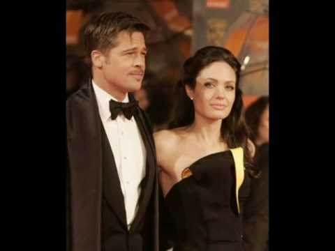 Angelina Jolie &  Brad Pitt - British Academy Film Awards 2009