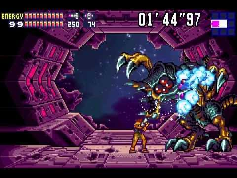 Metroid Fusion (GBA) [Best Ending, 100% run w/ secret messag