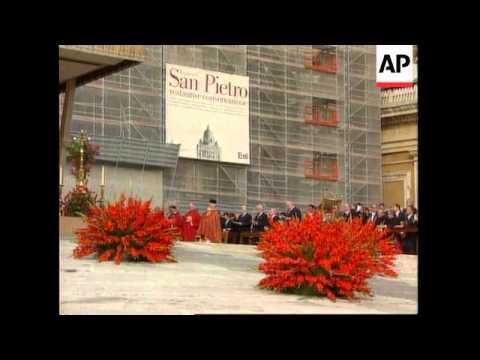 ITALY/POLAND: POPE DECREES AUSCHWITZ VICTIM A SAINT (3)