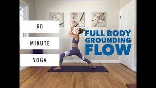 Video Power Vinyasa Yoga - 60 Minute Full Body Flow for Grounding & Balance download MP3, 3GP, MP4, WEBM, AVI, FLV Maret 2018