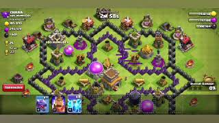 Attack on random home for trophies🏆got 3 stars💠|clash of clans|part 1