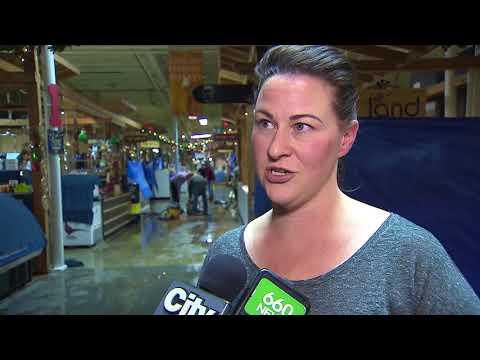 Calgary Farmers' Market floods