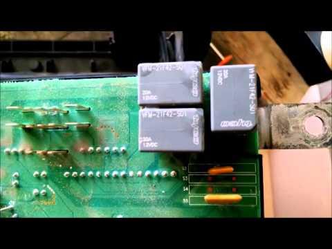 2004 DODGE RAM FUSE BOX TRAILER LIGHT RELAY REPAIR