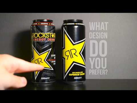 Rockstar Reformulated taste (2017) - Energy Drink Review