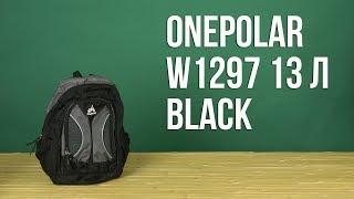 Розпакування Onepolar W1297 13 л Black