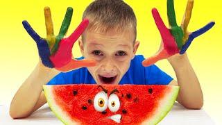 Мыть Руки Нужно Каждый День - Песенки для детей от Алекса и Насти