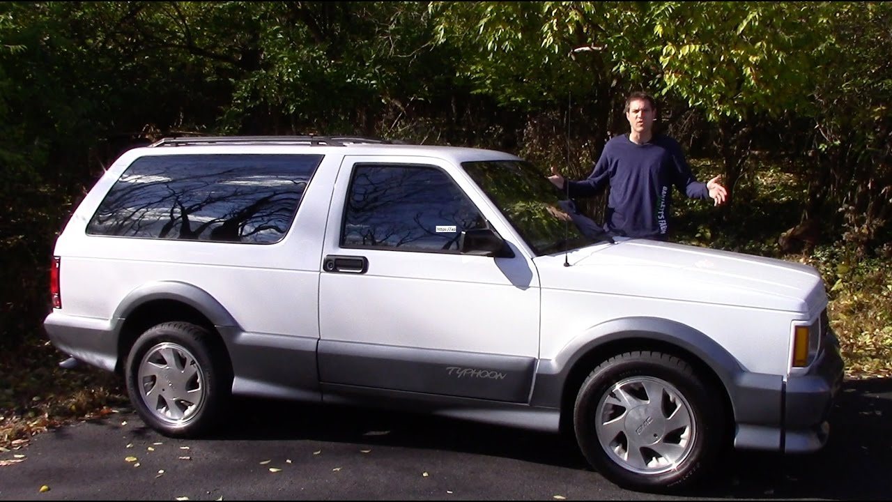 The GMC Typhoon Is a Future Classic