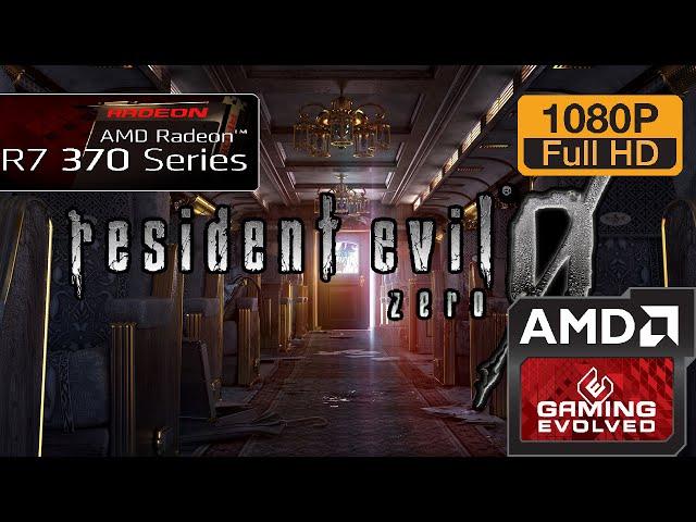 R7 370 - Resident Evil 0 Hd Remaster - 1080p/maxed (windows 10)