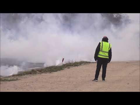 Paris : les Gilets jaunes à l'Arc de Triomphe
