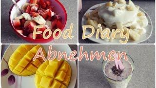 gesundes FOOD DIARY zum abnehmen | leckere, schnelle und einfache Rezepte | Diie Jule