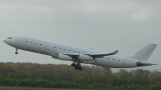 RARE! HiFly Airbus A340-313X at Paderborn/Lippstadt Aiport [HD][Including timelapse][Long Version]