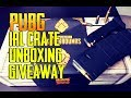 PUBG IRL LOOT CRATE UNBOXING + GIVEAWAY! STREAMISTHEDREAM PUBG LIVE