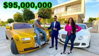 Dubai's RICHEST Kid Mansion Shopping , $95 million House  (17 years old)