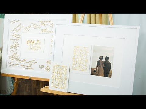 DIY Wedding Card Art - Hallmark Channel