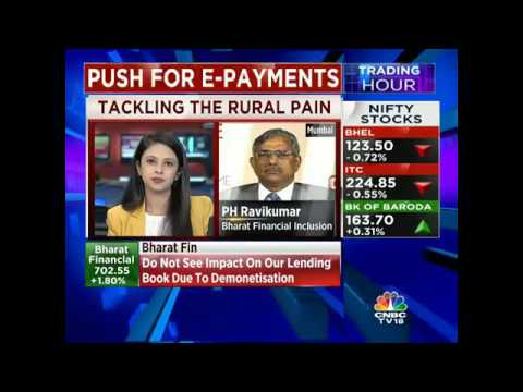 Don't See Any Impact On Our Lending Books due To Demonetisation: Bharat Fin