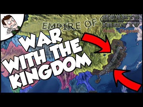 War With The Heavenly Kingdom! Empire of China - Le Deluge Mod - Hearts of Iron 4 Gameplay Part 2