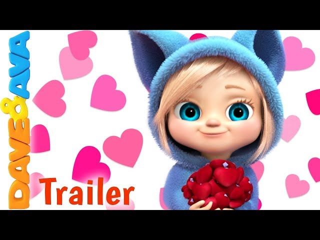 💓  Skidamarink - Trailer | Nursery Rhymes from Dave and Ava 💓