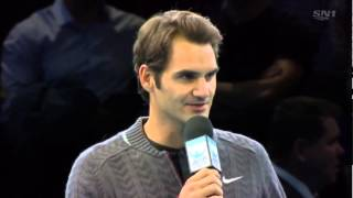 Federer withdraws ATP World Tour Final 2014