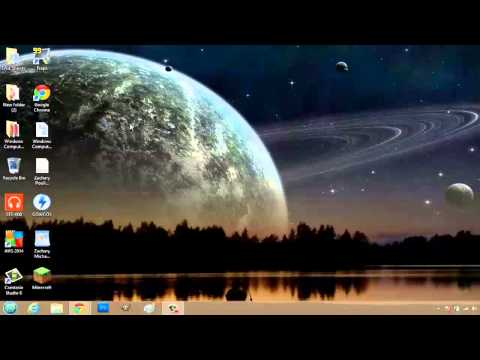 How to Zoom Out on a Computer Desktop : Basic Computer Operations