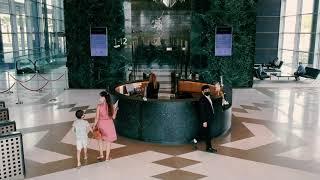 Central Park DIFC - Office Lobby and The Cube area