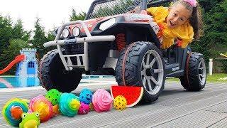 Öykü made an Experiment with toys