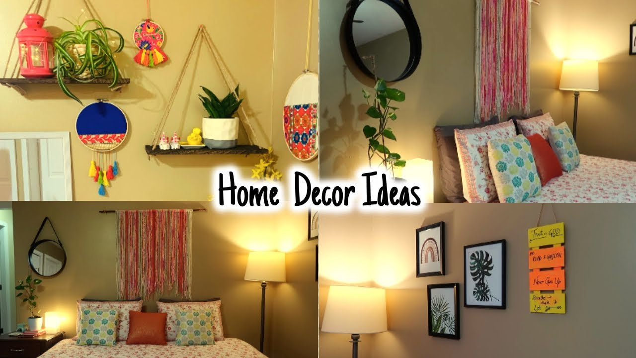 Bedroom Decoration For Diwali Home Decor Ideas Rented House Decor Ideas On Budget Youtube