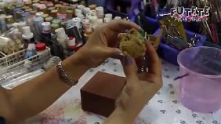 Acabado Perlado/Metálico con Esponja