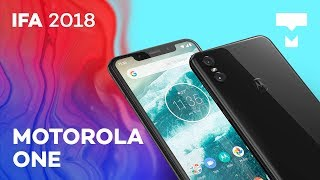 Moto One: o Motorola com Android One na IFA 2018 - TecMundo