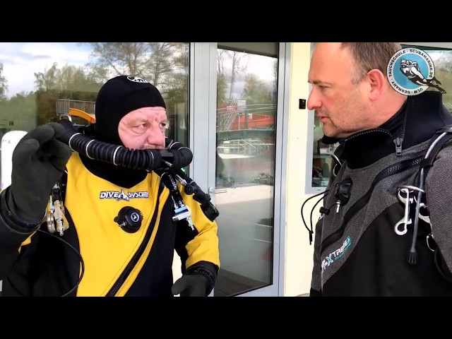 Diving with rEvo and SF2 Rebreather Diving Equipment