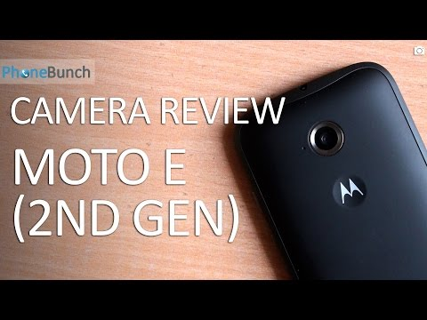 Moto E (2nd Gen) 2015 Camera Review