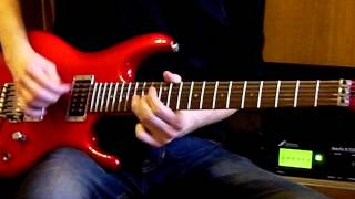 Slow minor blues - Axe FX II & Ibanez JS-1200 Joe Satriani signature guitar