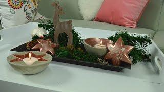 DIY Beton Deko zu Weihnachten