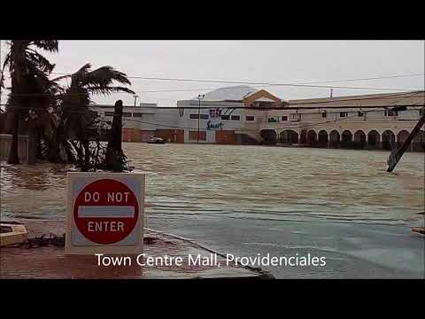 Post-Hurricane Irma  images from the  Turks and Caicos  Islands