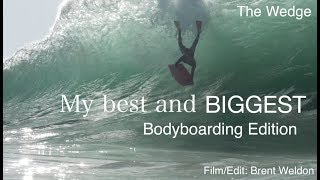 The Wedge | Best of Bodyboarding | 2017 Highlights | The Wedge Biggest Waves of the Year