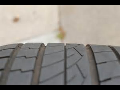 The Basics - How to Check a Tire for Excessive Tread wear
