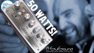 SviSound 50 WATT (LOUD) OverZoid Micro Amplifier & Preamp! I