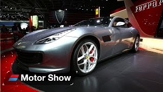 2017 Ferrari GTC4 Lusso T at Paris Motor Show - First Look