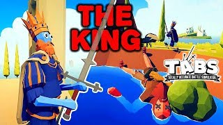 Totally Accurate Battle Simulator - Epic Adventures of THE KING! (TABS Movie)