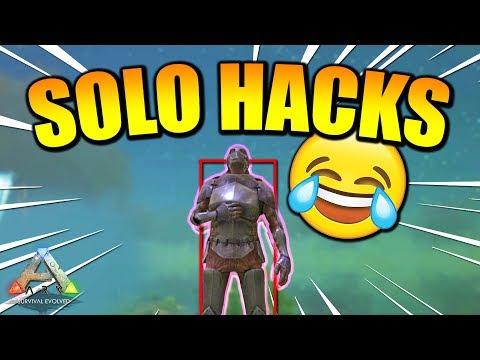 Solo ARK... But I'm Using HACKS