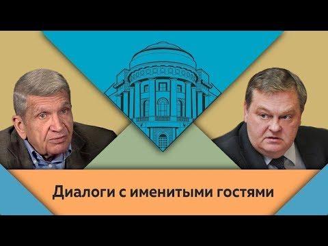 """Ю.Н.Жуков и Е.Ю.Спицын в студии МПГУ. """"Сталин и война"""""""