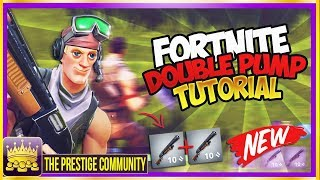 Fortnite 3.0.0 - *NEW WORKING* DOUBLE PUMP SHOTGUN TUTORIAL *PS4/Xbox 1* AFTER Patch Season 3 UPDATE