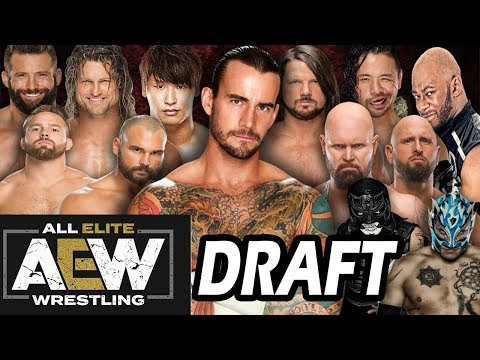 All Elite Wrestling Draft - 10 Possible Wrestlers on the AEW Roster