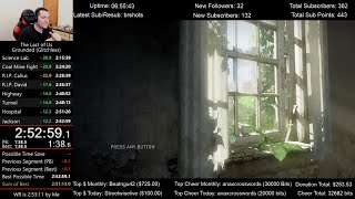 The Last of Us Speedrun World Record! (2:52:59) on Grounded mode (Glitchless)