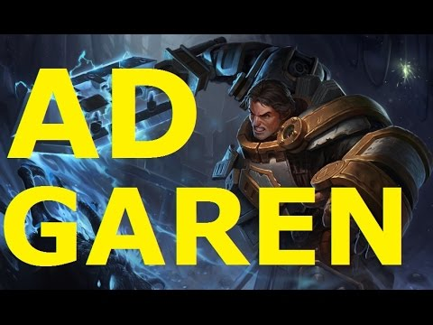 AD GAREN - League of Legends